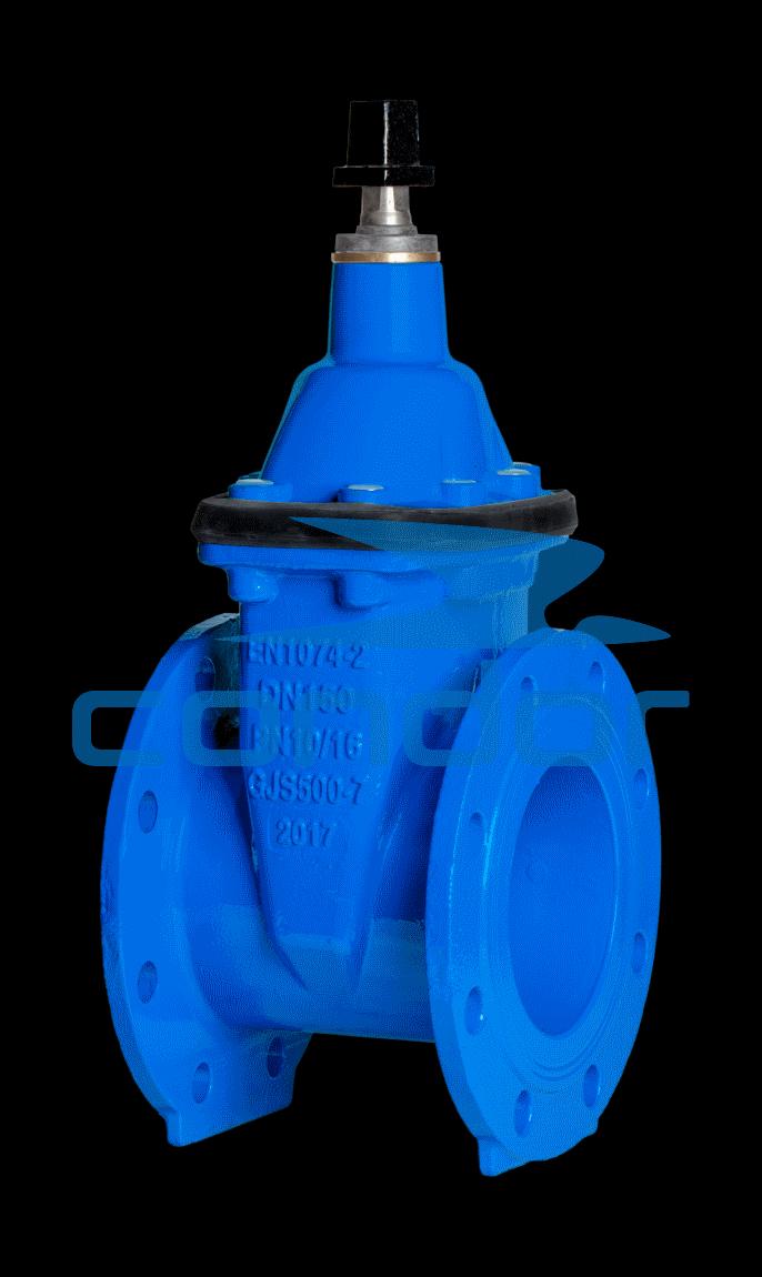 válvula compuerta cierre elástico f-4